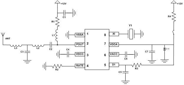 ask发射芯片|无线射频芯片|锐迪芯电子
